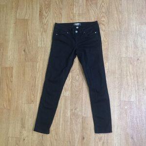 Paige Black Peg Skinny Jeans - 27